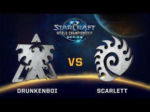 StarCraft 2 - Drunkenboi vs. Scarlett (TvZ) - WCS Valencia Challenger NA - Qualifier #1