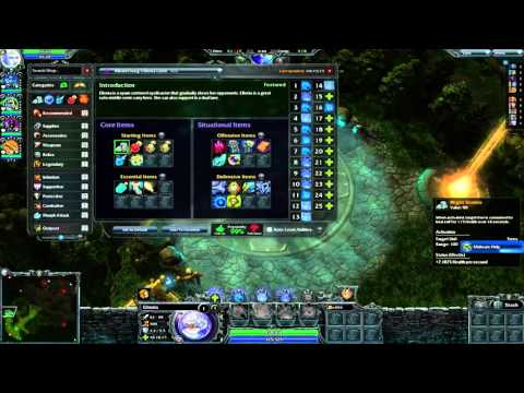 Heroes of Newerth HON - Mid Wars full match on Linux [Native] (AMD Radeon Catalyst fglrx)