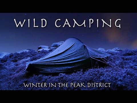 Wild Camping Peak District >> Winter Wild Camp In The Peak District