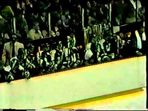 Dino Ciccarelli Playoff Hat Trick 4/10/82
