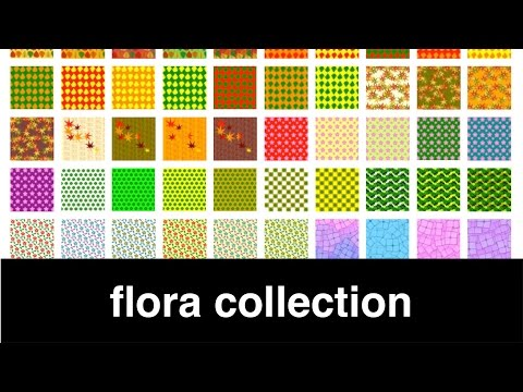 Collection of Flora Print Your Own Origami Paper