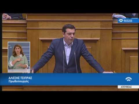 Δευτερολογία Πρωθυπουργού Α.Τσίπρα στην Προ Ημερησίας Διατάξεως Συζήτηση(Αγρότες) (18/01/2017)