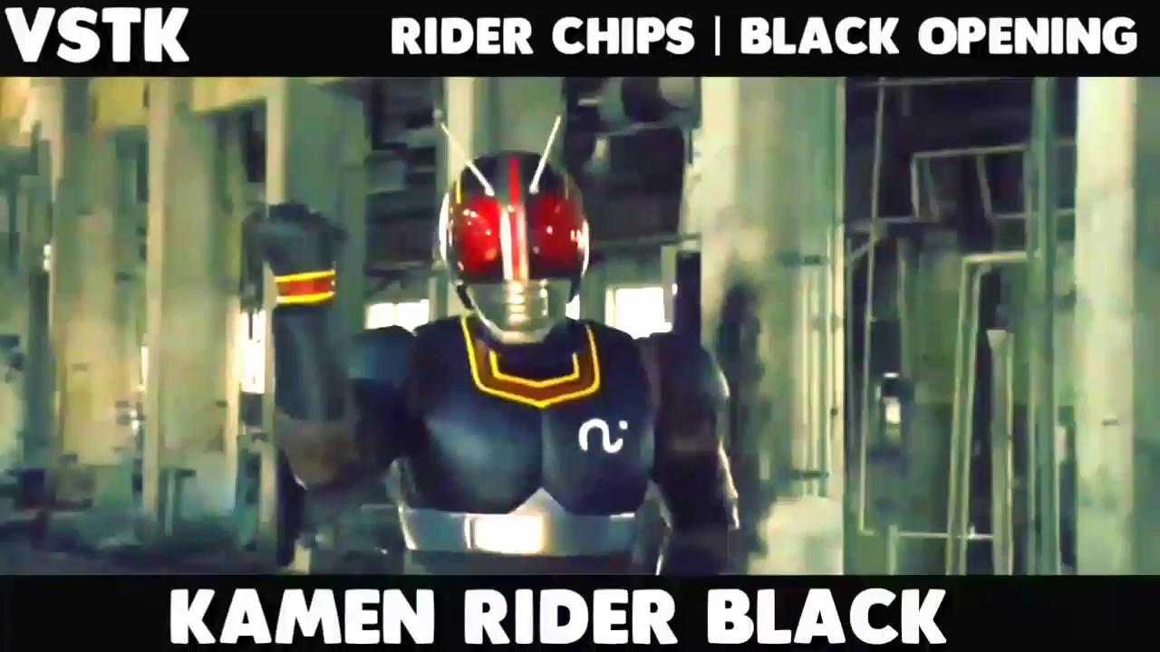 Kamen Rider Black - Rider Chips Black Op  HD  720p