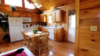 """A Romantic Journey"" 1 Bedroom Cabin Rentals With View and Hot Tub - Cabins USA 2014"