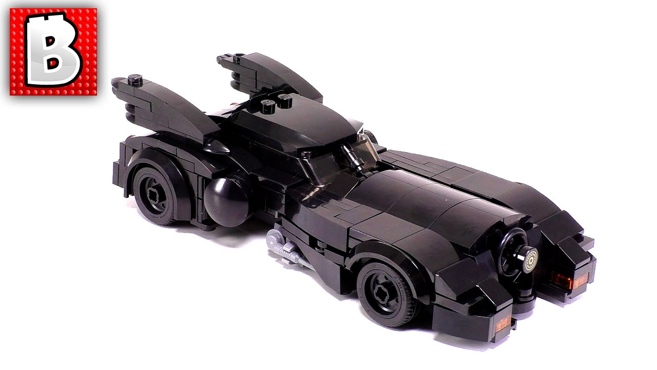 lego batmobile custom build time lapse review youtube. Black Bedroom Furniture Sets. Home Design Ideas