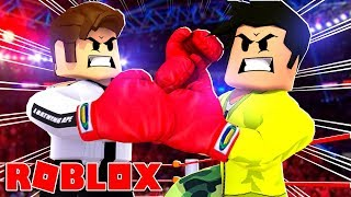 ESCAPE FROM THE BOXING MATCH À ROBLOX