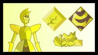 Steven Universe | Yellow Diamond Gem Corrupted Shattered (Fan Art)