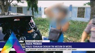 OKNUM TNI MESUM DI MOBIL