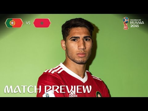 Achraf Hakimi (Morocco) - Match 19 Preview - 2018 FIFA World Cup™