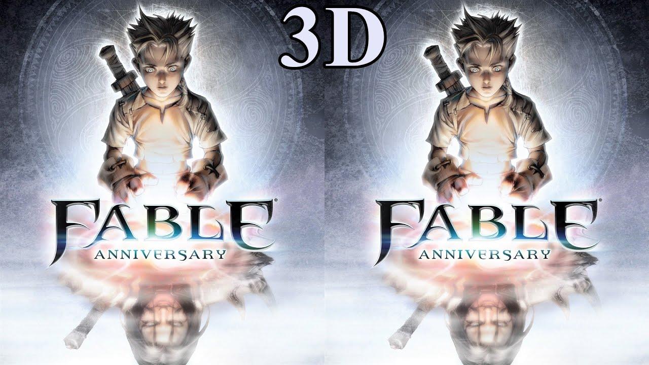 Fable Anniversary 3D video 1 SBS VR Box google cardboard