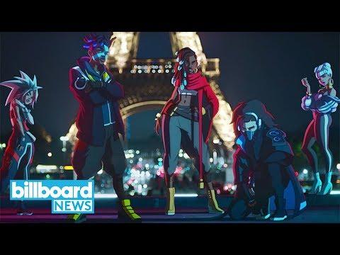True Damage (Becky G, Soyeon, Keke Palmer, Thutmose & Duckwrth) Drops 'Giants'   Billboard News