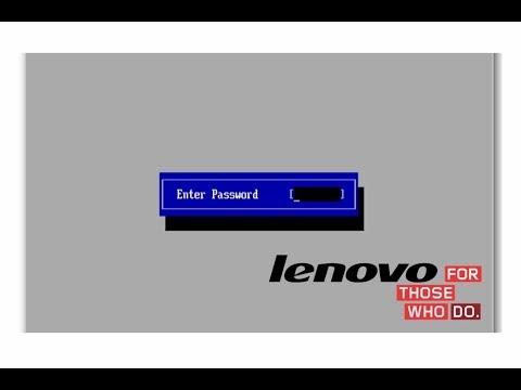 Как сбросить пароль Bios на ноутбуке Lenovo G50-30