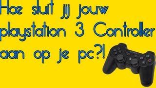 Hoe sluit jij jouw playstation 3 controller aan op je pc?