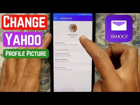 How To Change Profile Picture On Yahoo Mail
