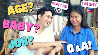 [ALL ABOUT PINAY #17] HOW OLD? BABY? JOB?ㅣQ&A with NEWLY WED KOREAN-FILIPINA Couple!