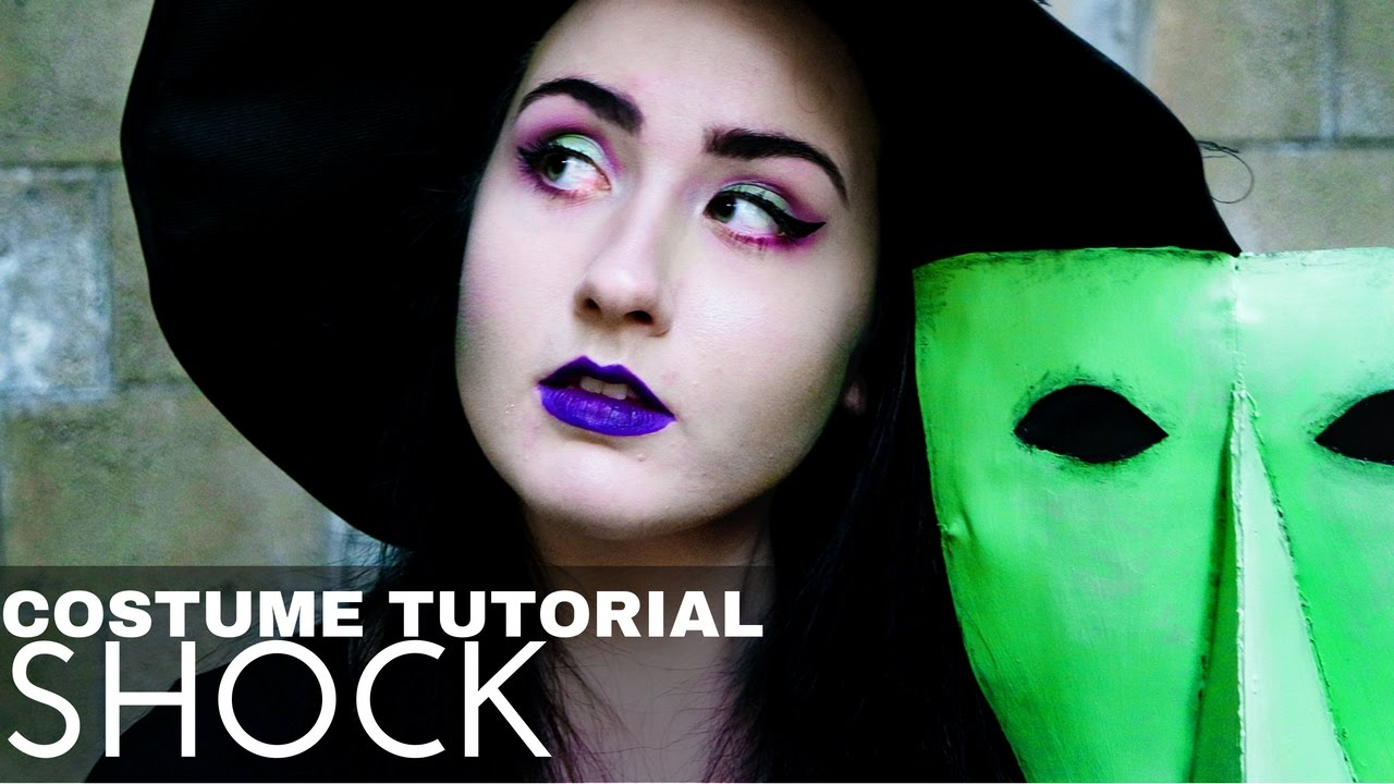Shock Costume Makeup Tutorial The Nightmare Before Christmas