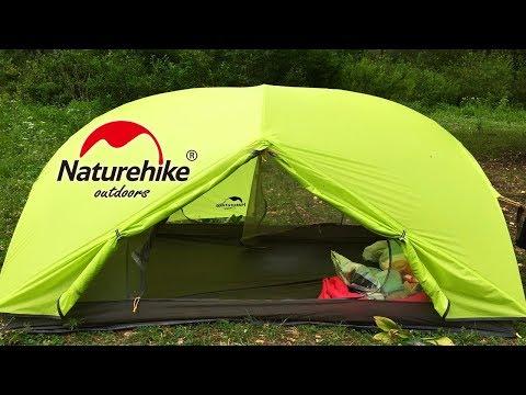 ТОВАРЫ ДЛЯ ТУРИЗМА С Aliexpress | Ультралегкая палатка Naturehike Mongar 2