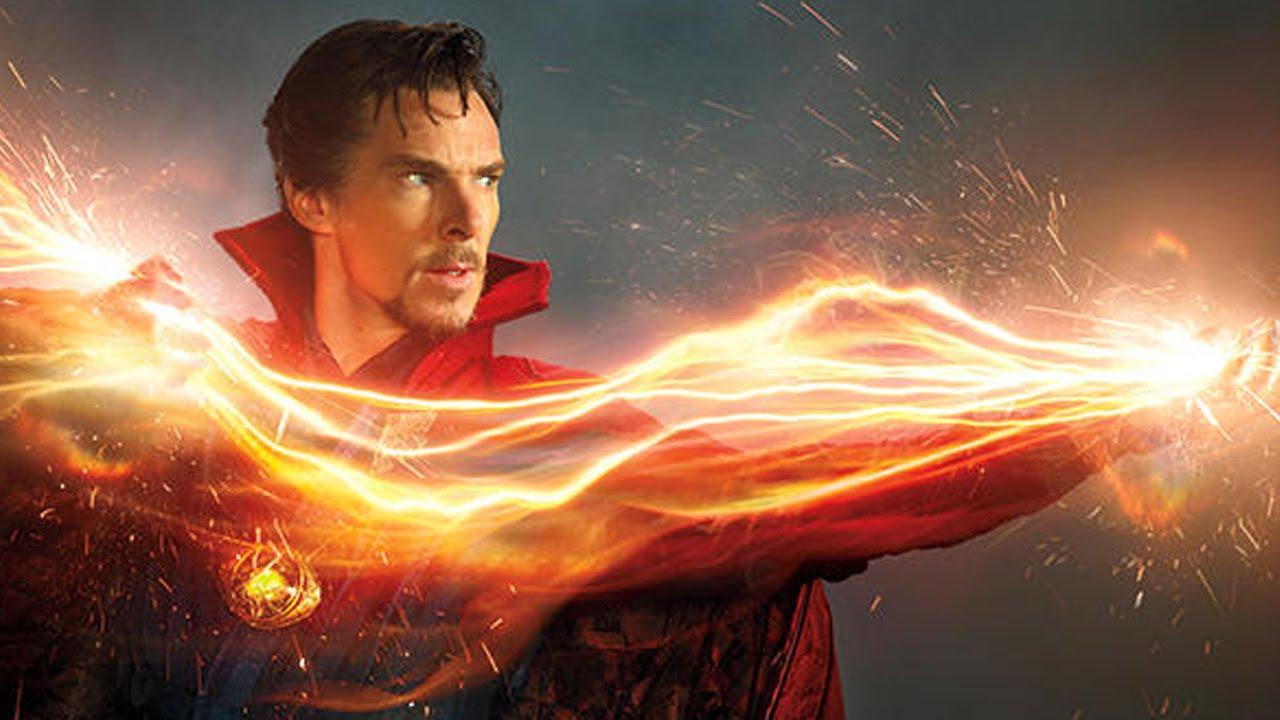 """Benedict Cumberbatch berperan sebagai Stephen Strange di film """"Doctor Strange""""."""