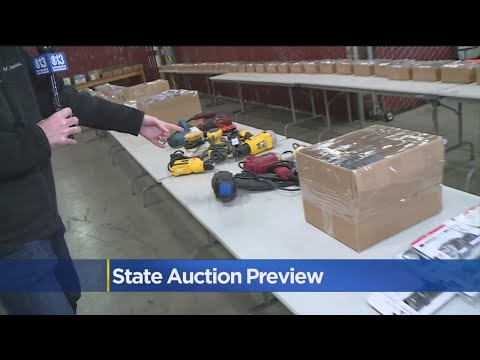 State Surplus Auction Happening On Saturday