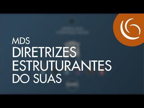 MDS | 2016 | Diretrizes Estruturantes do SUAS