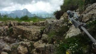 Aufstieg auf den Hohen Ifen im Kleinwalsertal