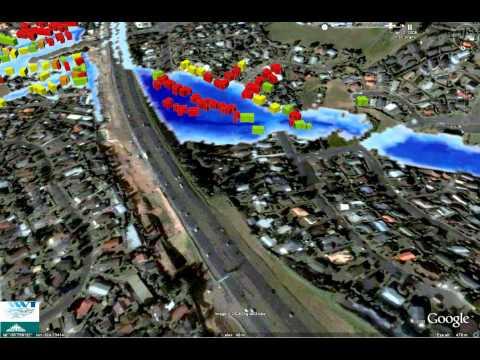 Flood Mapping Simulation