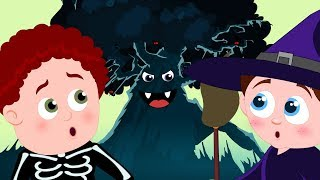 Halloween Tree | Schoolies Videos For Children by Kids Channel