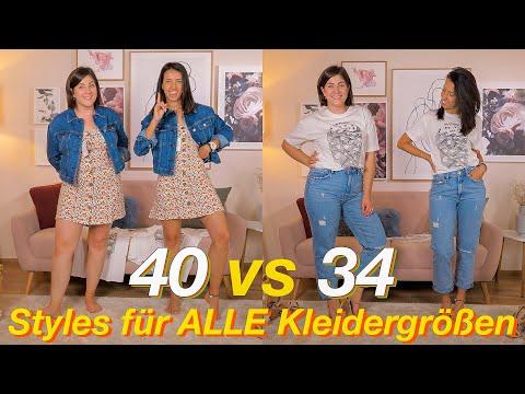 Kleidergröße 34 vs
