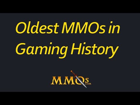 Oldest MMOs In Gaming History