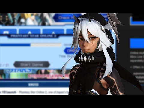 PSO2 PC Launch Though 😩