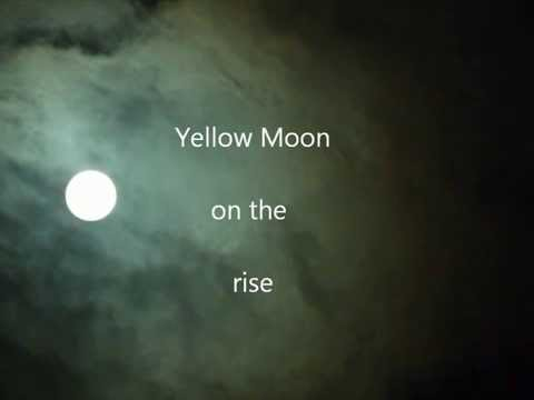 Pearl Jam - Yellow Moon (with lyrics)