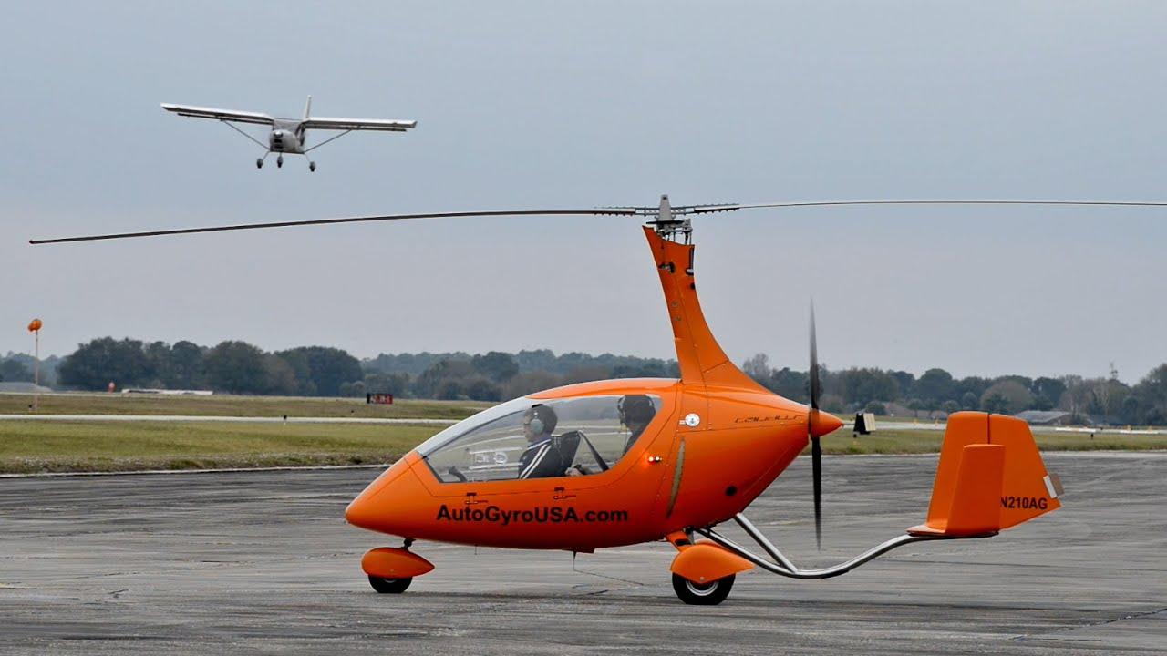Aircraft Profile: Calidus Autogyro - YouTube