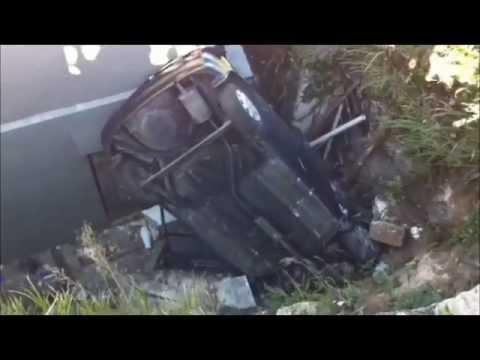 Car Crashed Into Yard Bermuda Nov 16 2011