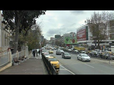 Walk around Istanbul. Bağdat Caddesi-Fenerbahçe Stadium-Kadıköy Pier.