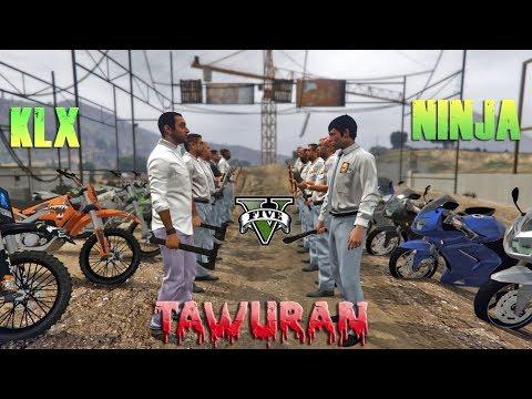 DILAN 2018!! Tawuran Geng motor - GTA 5 PARODY KOCAK