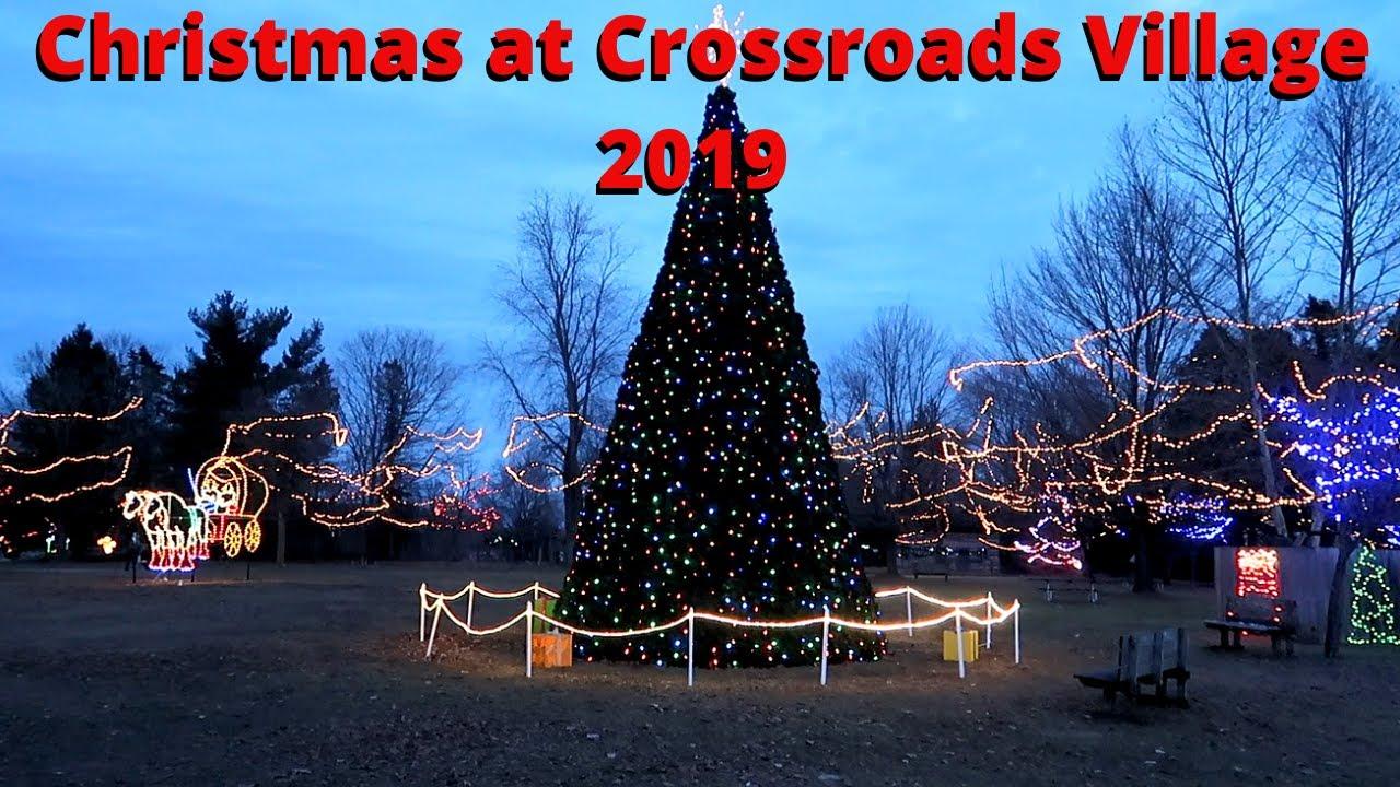 Christmas At Crossroads 2020 Christmas at Crossroads Village Holiday Magic 2019   YouTube
