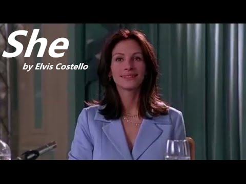 Notting Hill Full Highlight: She by Elvis Costello[Lyrics Sub]
