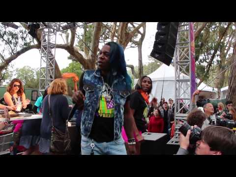 Bouncing for Beignets with Big Freedia at Outside Lands' GastroMagic Stage