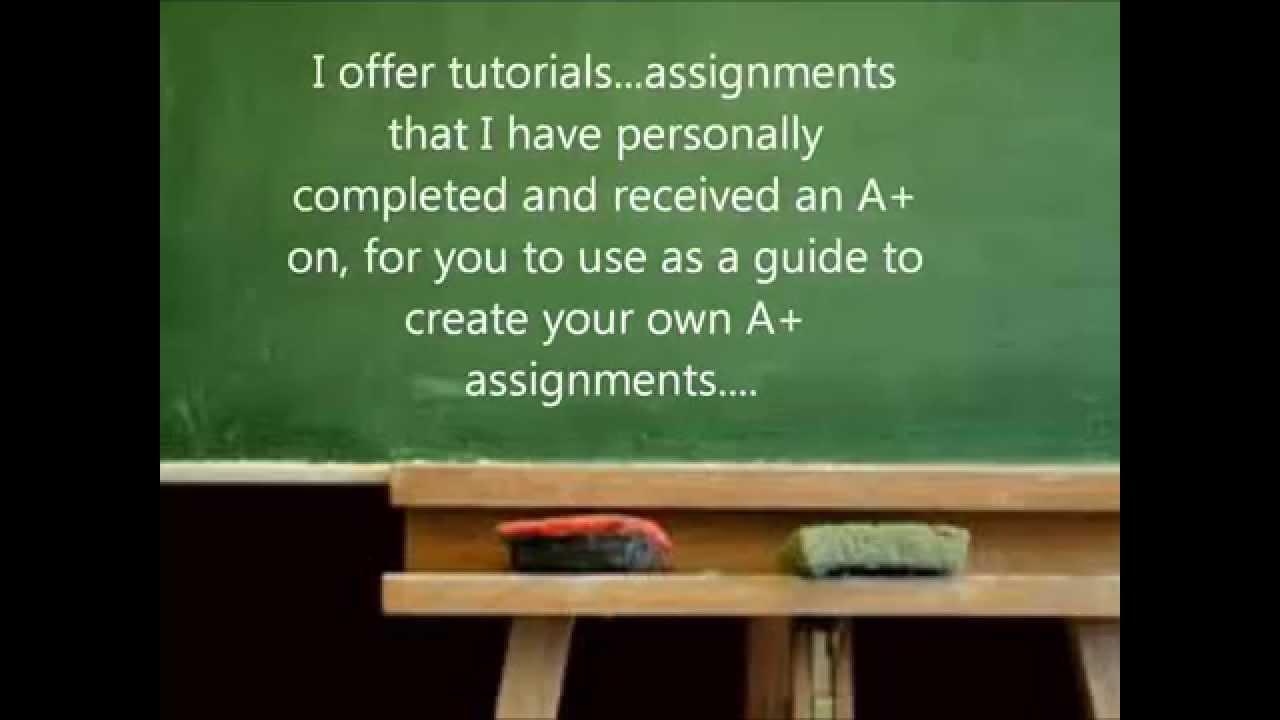Homework help for university students