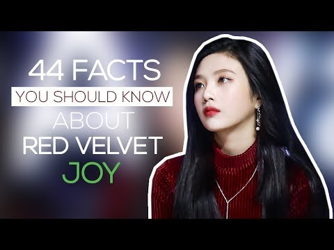 44 facts you should know about Red Velvet Joy