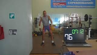 Гиревой спорт. Юрий Матвеев 8 этап онлайн кубка мира по гиревому спорту 24.08.2020 года