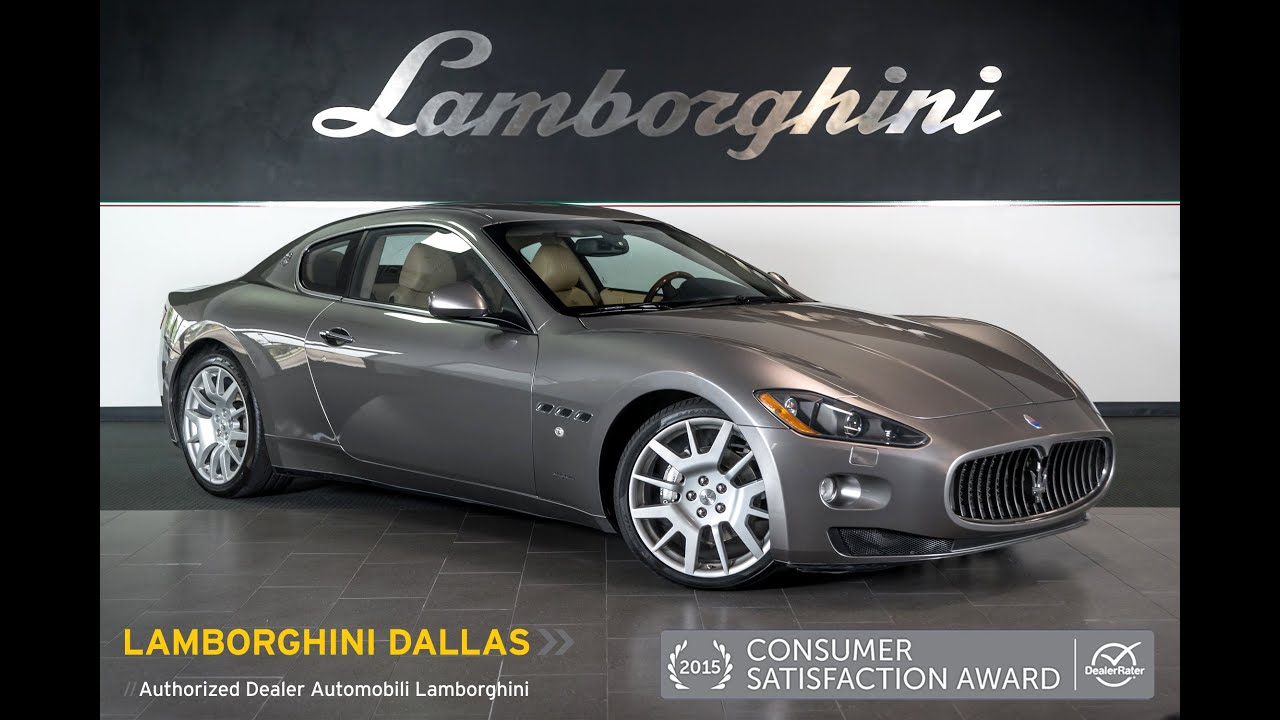 2008 maserati granturismo light gray metallic l0808 youtube. Black Bedroom Furniture Sets. Home Design Ideas
