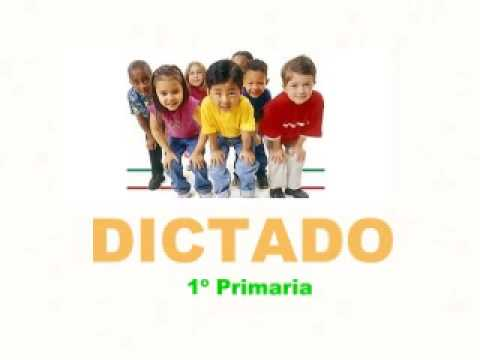 Dictado ( 1º primaria ) - YouTube