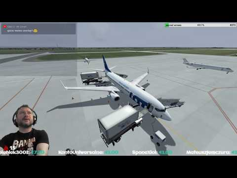 [P3Dv4.2] Rzeszów-Jasionka Airport (EPRZ) → Riga International Airport (EVRA) [Vatsim]