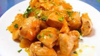 Pollo a la NARANJA receta CHINA - recetas de cocina faciles rapidas y economicas de hacer