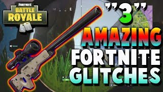 FORTNITE *AMAZING* Glitches! fortnite battle royale // Godmode, how to fly forever glitches & more