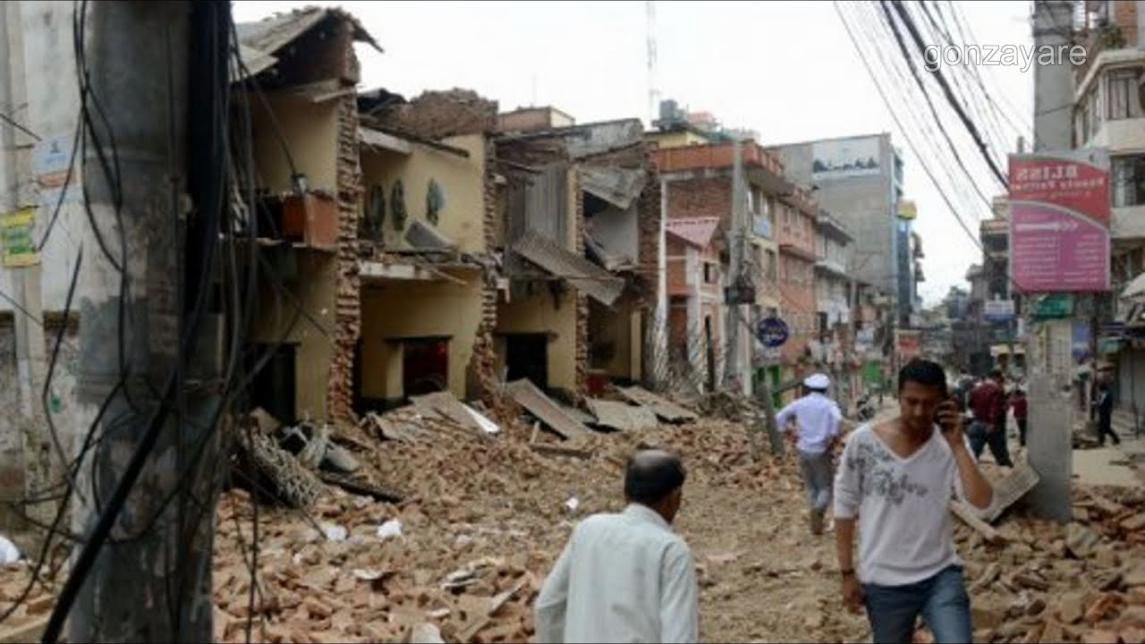 Terremoto En Nepal En Vivo Videos Impresionantes Réplica 16 De Mayo 2015 Youtube