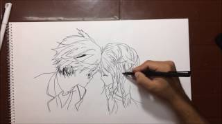 boy girl couple love sketch and drawing.... must see pencil drawing for couples.