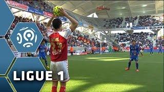 Stade de Reims - OGC Nice (0-1)  - Résumé - (SdR - OGCN) / 2014-15