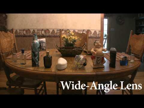 Standard Lens Vs. Wide Angle Lens